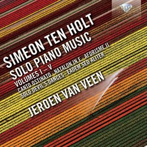Simeon Ten Holt: Solo Piano Music Vol. 1-5