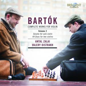 Bartok: Complete Works for Violin Vol. 2