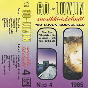 60-Luvun Suosikki-Iskelmät, N:o 4