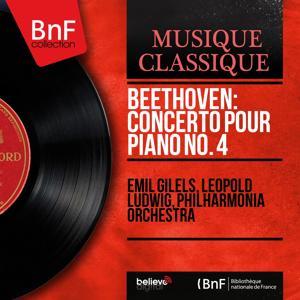 Beethoven: Concerto pour piano No. 4 (Stereo Version)