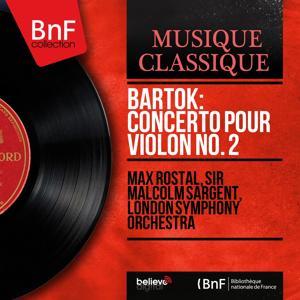 Bartók: Concerto pour violon No. 2 (Mono Version)
