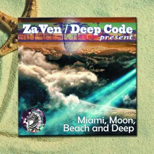 Miami, Moon, Beach And Deep