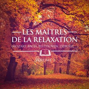Les maîtres de la relaxation, Vol. 3 (Mozart, Beethoven, Bach, Tchaïkovski, Satie et Debussy)
