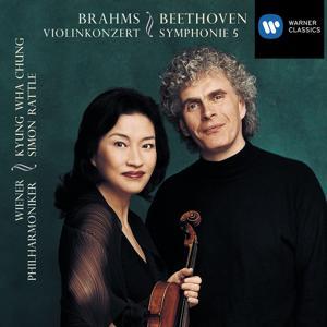 Beethoven:Symphony no.5 in C minor/Brahms:Violin Concerto in D