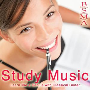 Study Music: Learn Like a Genius with Classical Guitar
