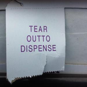 Tear Outto Dispense