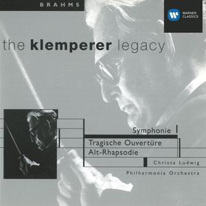 Brahms: Symphony No.1, Tragic Overture & Alto Rhapsody