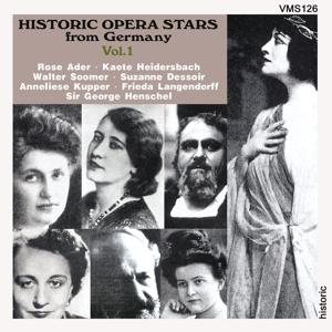 Historic Opera Stars from Germany, Vol. 1