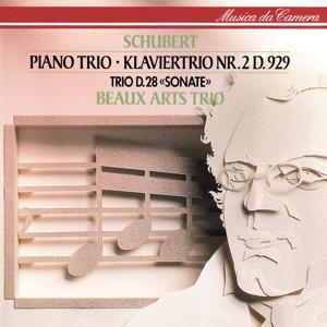 Schubert: Piano Trio No. 2; Piano Trio In One Movement
