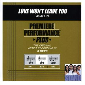 Love Won't Leave You (Performance Tracks) - EP