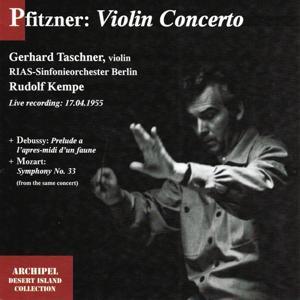 Hans Pfitzner: Violin Concerto (Live Recording 17.04.1955)