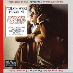 Tchaïkovski paganini : Concertos pour violon