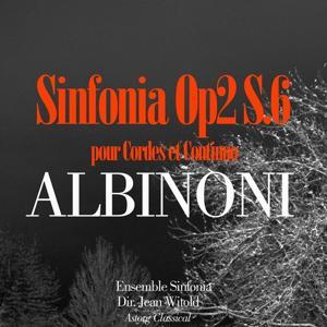 Albinoni: Sinfonia Op. 2 S.6 pour Cordes et Continuo