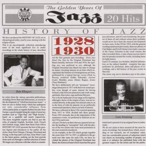 History Of Jazz 1928 - 1930